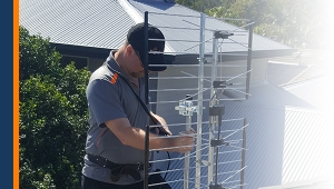 Image of installing a mobile phone booster
